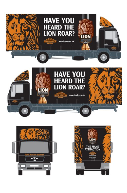 Lion-truck