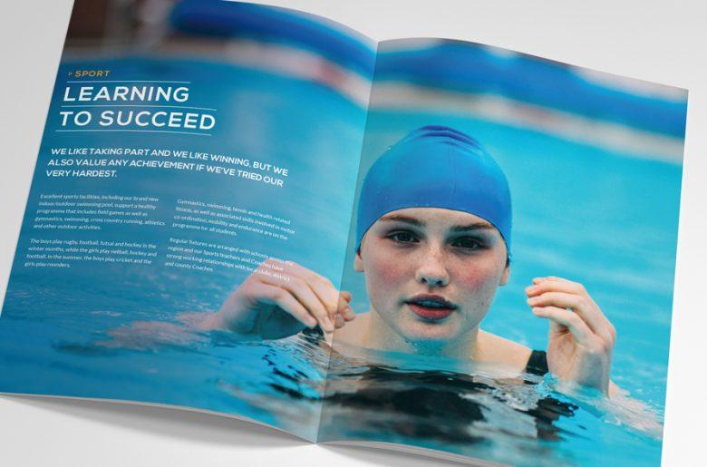 Prospectus-inside-spread-swimmer
