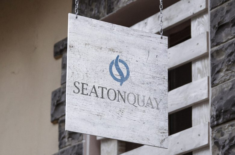 Seaton-Quay-logo-hanging-sign