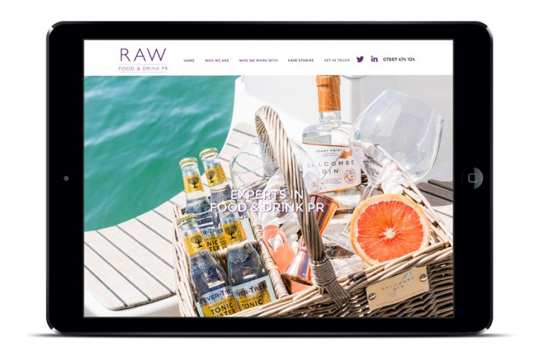 Raw-home-page